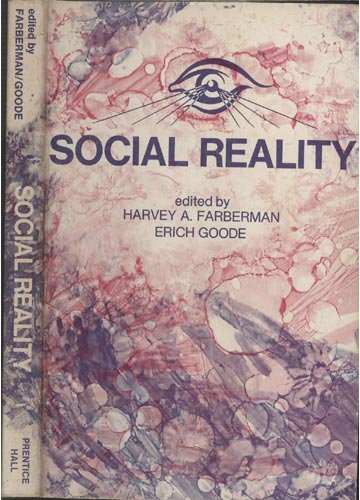9780138182458: Social reality, (Prentice-Hall sociology series)