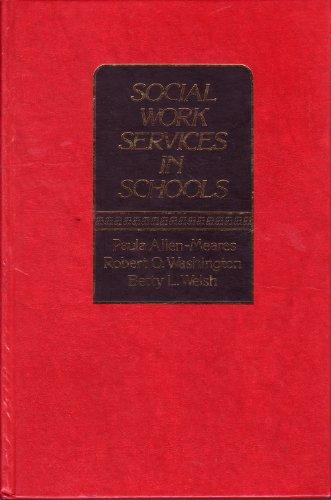 9780138196653: Social Work Services in Schools (Prentice-Hall series in social work practice)