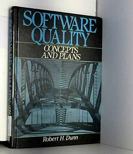9780138202835: Software Quality: Concepts and Plans
