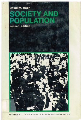 9780138207120: Society and Population (Prentice-Hall foundations of modern sociology series)