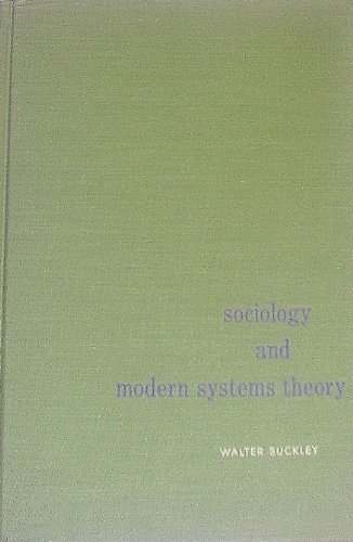 9780138213305: Sociology and Modern Systems Theory