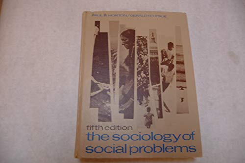 9780138214708: Sociology of Social Problems