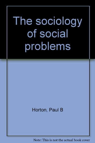 9780138216375: Title: The sociology of social problems