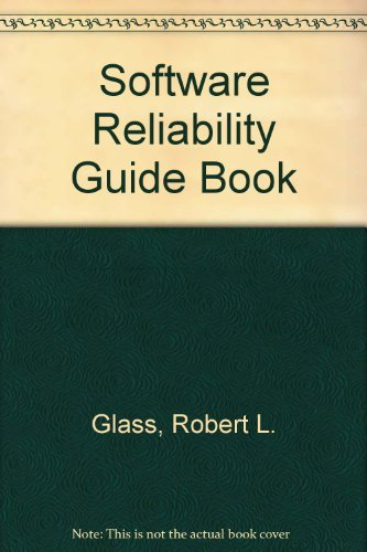 9780138217853: Software reliability guidebook