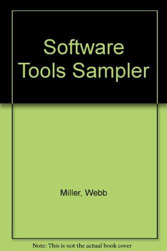 9780138219840: Software Tools Sampler