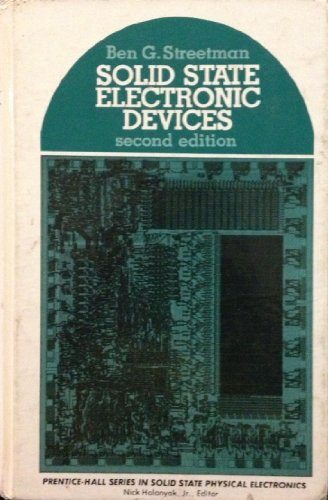 9780138221713: Solid State Electronic Devices (Prentice-Hall series in solid state physical electronics)