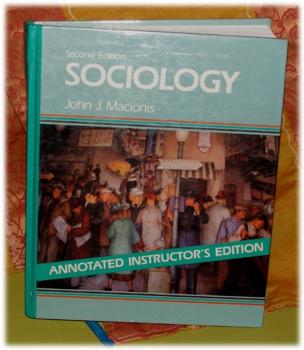 Instructor's manual, Sociology, second edition, John J.: Kain, Edward L