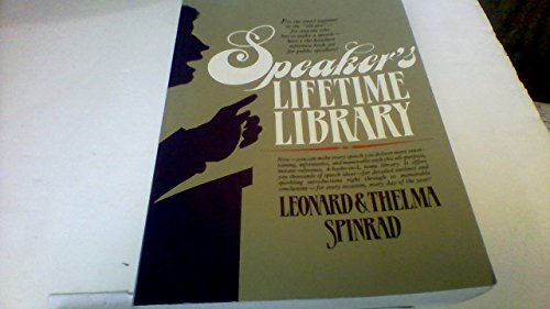 9780138245665: Speakers Lifetime Library