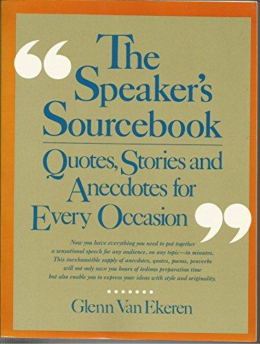 9780138245900: Speakers Sourcebook