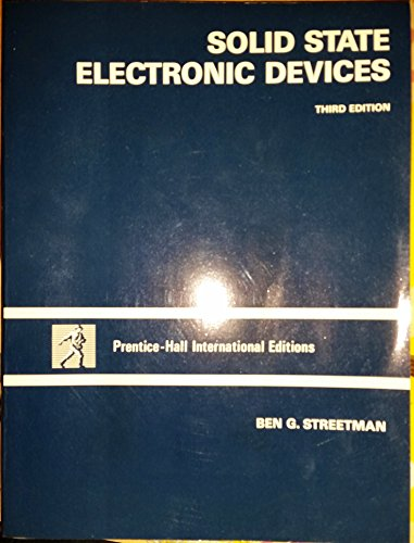 9780138247492: Solid State Electronic Devices