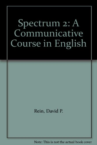 9780138267025: Spectrum 2: A Communicative Course in English