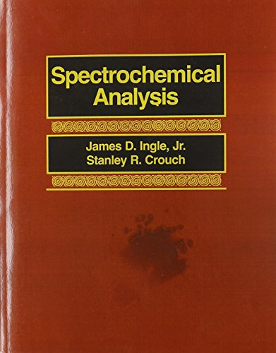 Spectrochemical Analysis: Ingle, James D.;