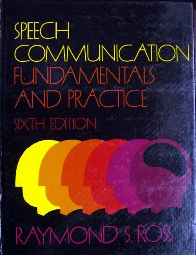 9780138275198: Speech communication: Fundamentals and practice