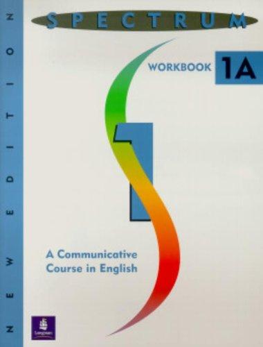 9780138299125: Spectrum: A Communicative Course in English 1, Level 1 Workbook 1A
