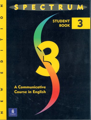 9780138300685: Spectrum: Communicative Course in English Level 3: Student Book: a Communicative Course in English Level 3