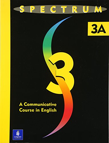 9780138300760: Spectrum 3A: Student Book 3a: a Communicative Course in English