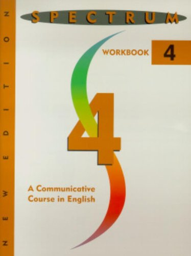 9780138301675: Spectrum: A Communicative Course in English, Level 4: Workbook Level 4