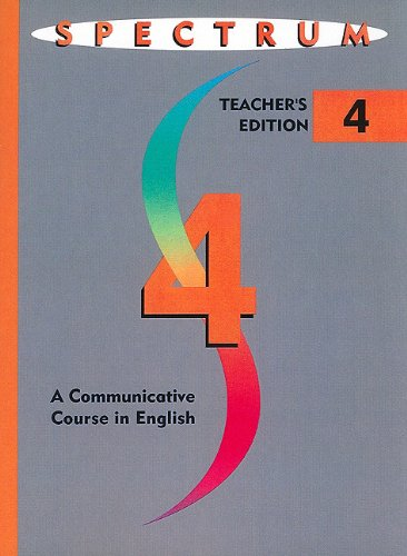 9780138301750: Spectrum: A Communicative Course in English, Level 4