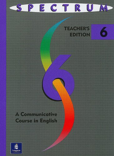 9780138302412: Spectrum: A Communicative Course in English, Level 6