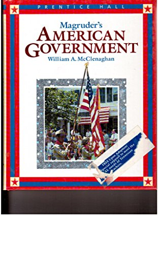 9780138337995: Magruder's American Government 1995