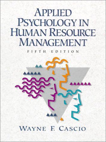 9780138342289: Applied Psychology in Human Resource Management