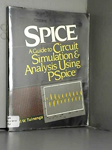 9780138346072: SPICE: A guide to circuit simulation and analysis using PSpice