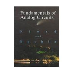 9780138369330: Fundamentals of Analog Circuits