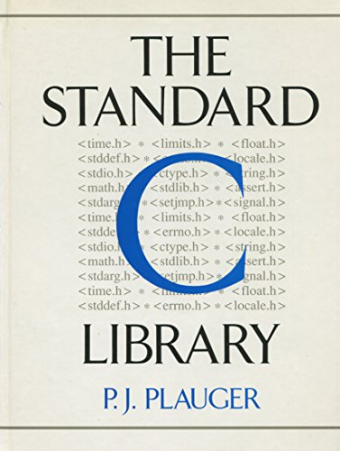 9780138380120: The Standard C. Library