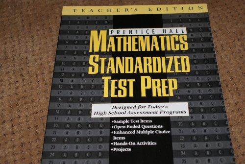 9780138395315: Prentice Hall Mathematics Standardized Test Prep - Teacher's Edition