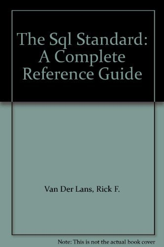 9780138400590: The SQL Standard: A Complete Reference