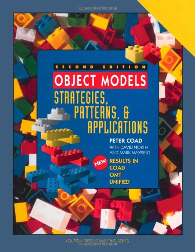 9780138401177: Object Models: Strategies, Patterns, and Applications (with disk)