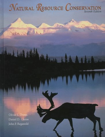 9780138401337: Natural Resource Conservation: Management for a Sustainable Future