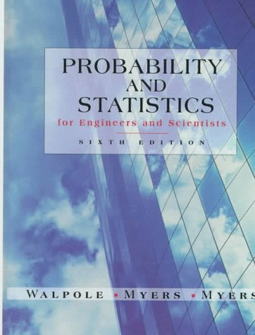 9780138402082: Probability and Statistics for Engineers and Scientists