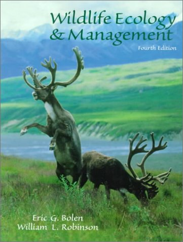 9780138404222: Wildlife Ecology and Management (4th Edition)