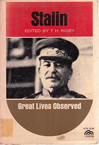9780138404543: Stalin [Great Lives Observed series] (Spectrum Books)