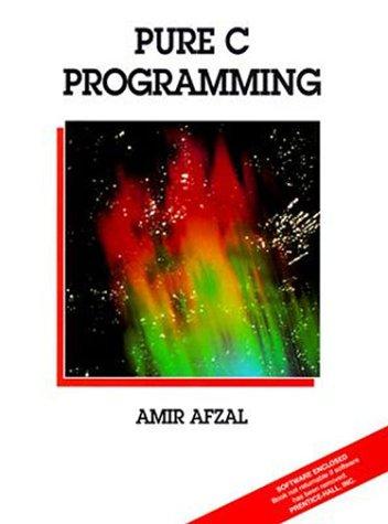 9780138407032: Pure C. Programming