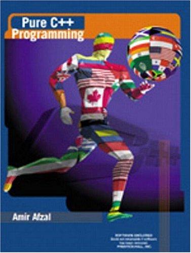 9780138407117: Pure C++ Programming
