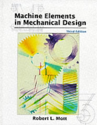 9780138414467: Machine Elements in Mechanical Design (3rd Edition)