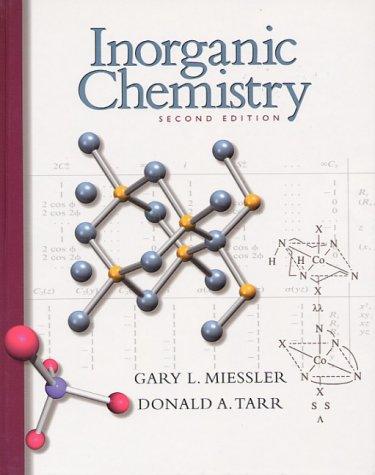 9780138418915: Inorganic Chemistry (2nd Edition)