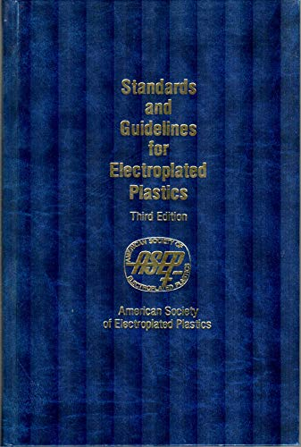 9780138423100: Standards and Guidelines for Electroplated Plastics (English Edition)