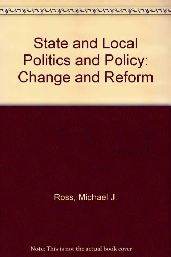 9780138433840: State and Local Politics and Policy: Change and Reform