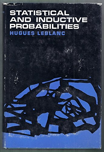 9780138445713: Statistical and Inductive Probabilities