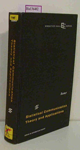 9780138445898: Statistical Communication Theory and Applications (Prentice-Hall EE Series)
