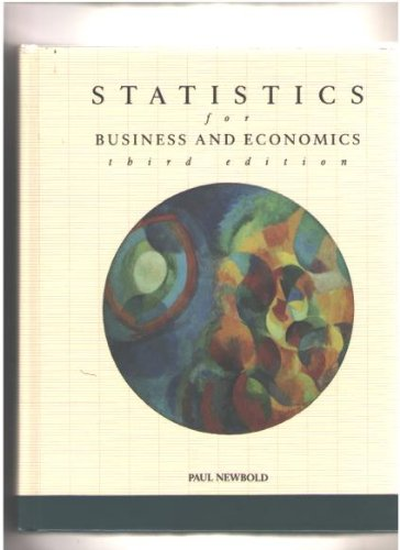9780138471200: Statistics for Business and Economics (Sigs Reference Library)