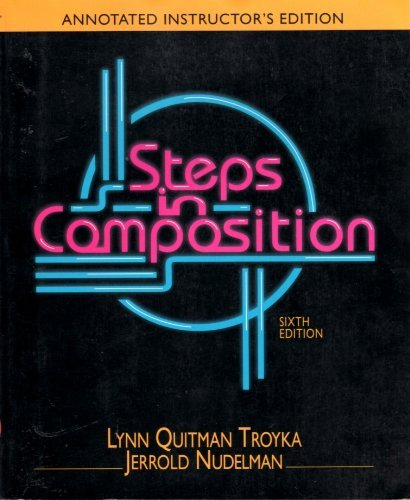 9780138477165: Steps in Composition