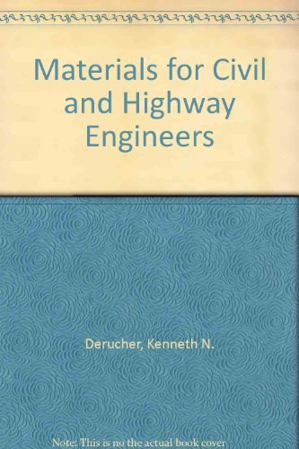 9780138478315: Materials for Civil and Highway Engineers