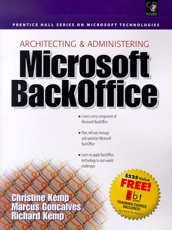 9780138480523: Architecting & Administering Microsoft Backoffice