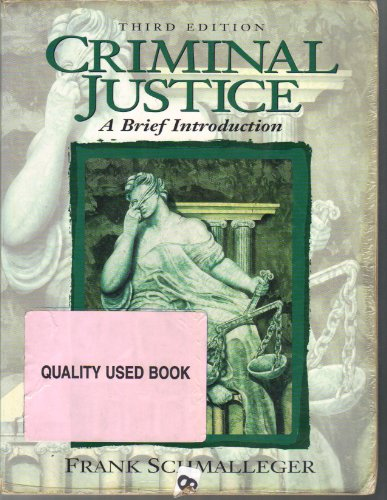 9780138482435: Criminal Justice: A Brief Introduction