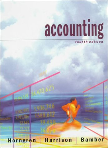 9780138486723: Accounting (Prentice Hall series in accounting)