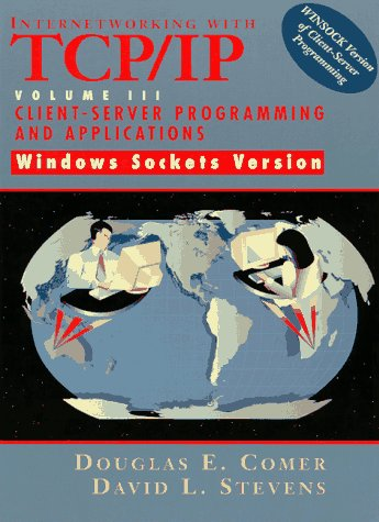 9780138487140: Internetworking with TCP/IP Vol. III Client-Server Programming and Applications-Windows Sockets Version